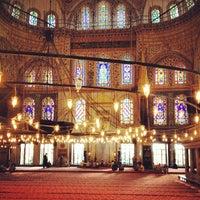Снимок сделан в Голубая мечеть пользователем Eric F. 7/24/2013