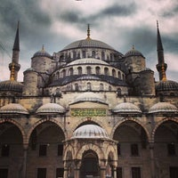 Photo taken at Blue Mosque by Eric F. on 7/19/2013