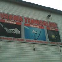 Photo taken at Varma tennisklubi by Ari K. on 9/9/2013