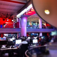 Photo taken at BBC Broadcasting House by Matt R. on 6/12/2013