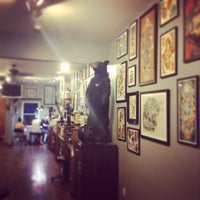 Photo taken at Three Kings Tattoo Parlor by rich g. on 7/28/2013