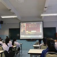 Photo taken at ห้องศูนย์คณิตศาสตร์ โรงเรียนสามัคคีวิทยาคม by Mew M. on 9/13/2016