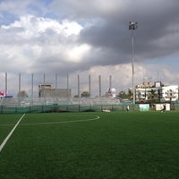 Photo taken at Casa Bella Football Ground by Ajay S. on 3/1/2015