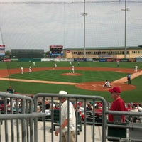 Photo taken at Roger Dean Stadium by Mike J. on 2/25/2013