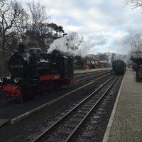 Photo taken at Bahnhof Göhren by Thomas D. on 2/25/2016