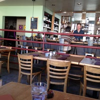 Photo taken at Cafe Flora by Eric Scott T. on 3/3/2013