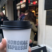 Photo taken at Monorail Espresso by Hayley G. on 12/29/2014