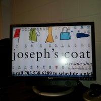 Photo taken at Joseph's Coat Resale Store by Matt W. on 10/1/2012