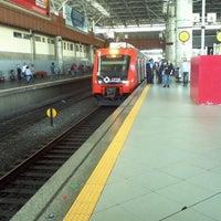 Photo taken at Estação Brás (CPTM) by Fabio T. on 10/5/2012