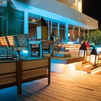 Photo taken at The Lounge & Terraces by Krystal Grand Punta Cancun on 5/12/2014