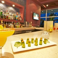 Photo taken at The Lounge & Terraces by Krystal Grand Punta Cancun on 10/26/2013
