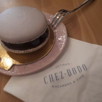 7/1/2018 tarihinde Kovács 'kope' P.ziyaretçi tarafından Chez Dodo - Artisan Macarons & Café'de çekilen fotoğraf
