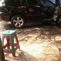 Photo taken at Arema Car Wash by Ponky V. on 2/7/2013