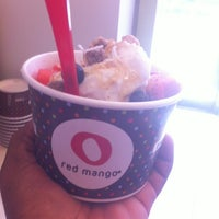 Photo taken at Red Mango by Danielle D. on 4/9/2013