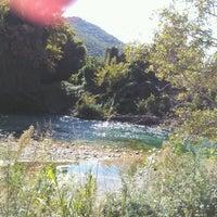 Photo taken at Acheron Springs by Eirini T. on 10/27/2017
