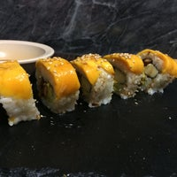 Photo taken at Go Sushi by Steph O. on 7/21/2014