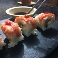 Photo taken at Go Sushi by Steph O. on 10/9/2014