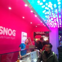 Photo taken at Snog Pure Frozen Yogurt by Juli F. on 11/18/2012