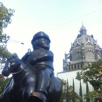 Photo taken at Plaza Botero by Juli F. on 1/9/2013