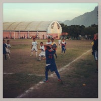 Photo taken at Unidad Deportiva Talaverna by Tebo on 6/25/2013