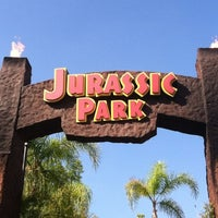 Photo taken at Jurassic Park The Ride by Todd S. on 10/7/2012