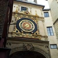 Photo prise au Gros Horloge par Setti M. le12/10/2012