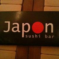 Photo taken at Japon Sushi Bar by Jaime G. on 1/26/2013