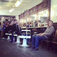 Photo taken at Fellow Barber by Gleb K. on 7/29/2013