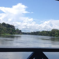 Photo taken at Pousada uacari (reserva mamirauá) by Roberto G. on 7/18/2014