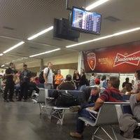 Photo taken at Portão 1 / Gate 1 by Roberto G. on 7/14/2014