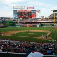 Photo taken at Nationals Park by Patrick A. on 6/27/2013