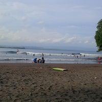Photo taken at Pantai Batu Karas by Irawan H. on 1/23/2017