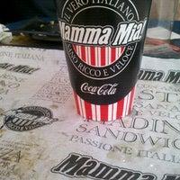 Photo taken at Mamma Mia by Paula G. on 1/25/2013