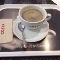 Photo taken at Costa Coffee by farsai e. on 9/4/2014