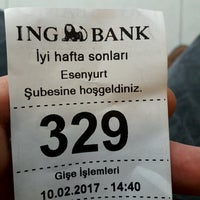 Photo taken at ING Bank by Taner K. on 2/10/2017