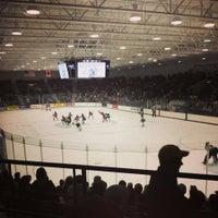 Photo taken at Schneider Arena by Joanna S. on 10/26/2013