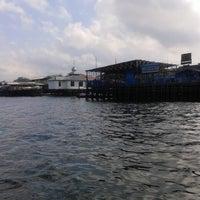 Photo taken at Pelabuhan speedboat kampung baru by Muhammad N. on 9/23/2014