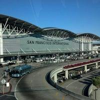 Photo taken at San Francisco International Airport (SFO) by Edi G. on 9/13/2013