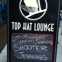 Photo taken at Top Hat Lounge by Brandy R. on 8/2/2013