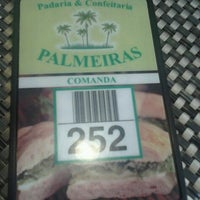 Photo taken at Padaria Palmeiras by Angelica S. on 11/4/2012