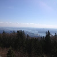 Photo taken at Cypress Mountain Lookout by Alex on 3/29/2013