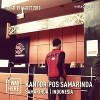 Photo taken at Kantor Pos Samarinda by Denny W. on 3/15/2013