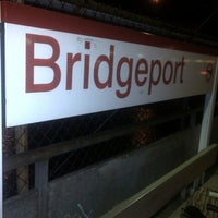 Photo taken at Bridgeport Train Station (BRP) - Metro North & Amtrak by Cait C. on 10/15/2012
