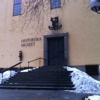 Photo taken at Historiska Museet by Anastasiya S. on 12/30/2012