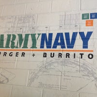 Photo taken at Army Navy Burger + Burrito by JM C. on 4/24/2013
