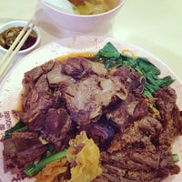 Photo taken at Tai Seng Noodle House by Addy T. on 6/19/2014