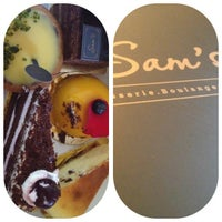 Photo taken at Sam's Patisserie.Boulangerie.Desserts by silvia on 5/26/2013