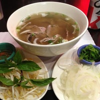 Photo taken at Pho Saigon Noodle & Grill by BB C. on 10/4/2012