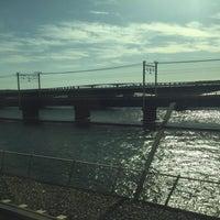 12/24/2016にいそ ぴ.が東海道新幹線 第三浜名橋梁で撮った写真