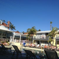 Photo taken at The Lafayette Hotel, Swim Club & Bungalows by Dom V. on 3/1/2013